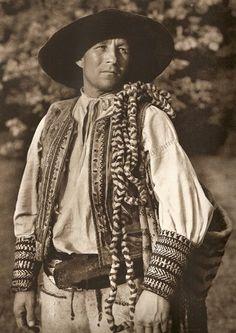 Man in folk costume (Slovakia)