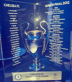 Champions Of Europe. This night we list our son God rest his soul. A sad end for a this day Chelsea Blue, Chelsea Champions League, Uefa Champions League, Fifa Football, Nfl Denver Broncos, Chelsea Fc Players, Chelsea Fc Wallpaper, Chelsea Soccer, Fernando Torres