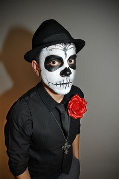 My Halloween / Dia de los Muertos Costume by Sean_M, via Flickr