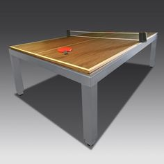 7.5 ft Fusion Table with Bespoke Table Tennis Top