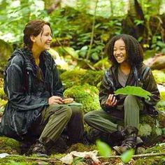 Katniss & Rue! The Hunger Games