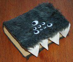 monster book of monsters. great craft when reading harry potter