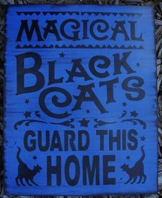 primitive witch signs cats paw readings tarot cards halloween decorations party astrology witches plaques primitives vintage gypsies vintage gypsy