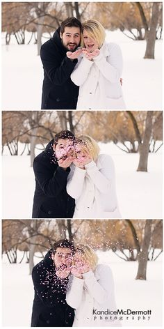 Confetti gender reveal..but this is so cute too!!!