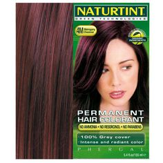 Mahogany Chestnut Hair Colour