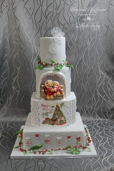 "Wedding cake ""Christmas feelings"" by Tortenherz"