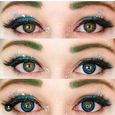 "Bling bling eyes #clearsky @sarahspaceman. Use code ""TTDPIN"" get 10% off. #contactlenses#coloredlenses#glitters#beautifulmakeup#eyemakeup#like4like#coloredcontacts#contactsonline#eyecontact#ordercontactsonline#cheapcontactlenses#makeuptrend#flawlesssdolls#dressyourface#influencer#bblogger#cosmeticlens#fashionmakeup#makeupworld#likeforlike#eyesmakeup#contactlenses#contactlens#makeup#makeupoftheday#ttdeye"