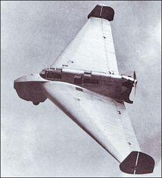 Lippisch Delta I, 1930                                                                                                                                                                                                                                                                                                                                                                           ❤Aero✈❤