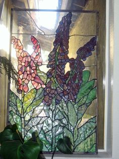 foxglove stained glass - Google Search