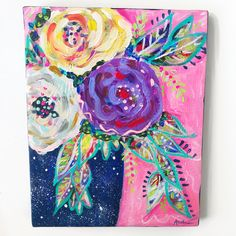 Ideas Pop Art Painting Abstract Texture For 2019 Christmas Art Projects, Cool Art Projects, Diy Painting, Painting Abstract, Line Art Lesson, Art Ideas For Teens, Abstract Flower Art, Art Drawings Beautiful, Diy Canvas Art