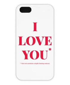 Love You als iPhone 6 Hülle