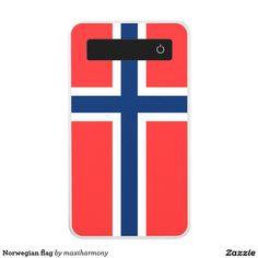 Norwegian flag power bank