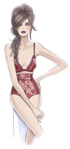 Eda Merve Meral #fashion #illustration #art