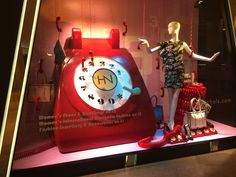 """HARVEY NICHOLS,Pacific Place, Hong Kong,""""Please Call 333 for Takeaway Food Delivery Services"""", photo by Lincoln Keung, pinned by Ton van der Veer Pacific Place, Merchandising Ideas, Store Window Displays, Meal Delivery Service, Harvey Nichols, Retail Space, White Paper, Lincoln, Hong Kong"""