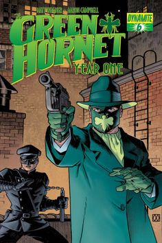 The Green Hornet taking on gangsters in the 50's...