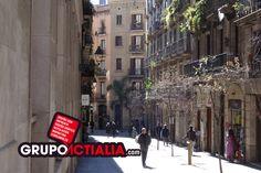 Carrer de les Ramelleres, Barcelona. Grup Actialia ofrece sus servicios en Barcelona: Diseño web, Diseño gráfico, Imprenta y Rotulación. www.grupoactialia.com
