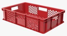 Raptor Truck, Plastic Crates, Food Retail, 3ds Max Models, Plastic Design, Plastic Laundry Basket, Food Storage, All The Colors, Cnc