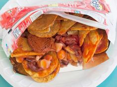 Tostilocos a crazy snack! Welcome to Tucson: 10 Must-Try Mexican-Inspired Dishes : Food Network