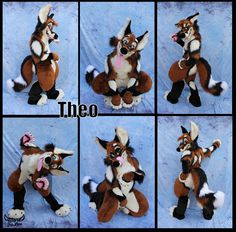 Theo Fullsuit! - by Morefurless  I love Morefurless' ways of making a suit so u can change the expression X3