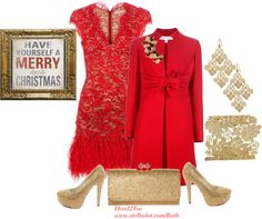 """""""Have Yourself a Merry Little Christmas =)!!!!"""" by michelleruth ❤ liked on Polyvore"""