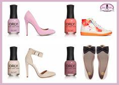 Shoes + Nail Polish = Love! @Gaia Bocola http://www.leesose.com/2014/03/collezione-blush-orly.html#more