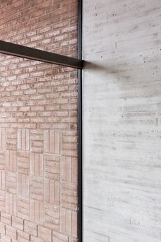 concrete + brick