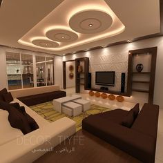 Stunning Ceiling Design Ideas To Spice Up Your Home - Ceiling design Gypsum Ceiling Design, Interior Ceiling Design, House Ceiling Design, Ceiling Design Living Room, False Ceiling Living Room, Bedroom False Ceiling Design, Small Living Room Design, Home Ceiling, Ceiling Decor