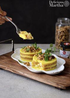 Este Timbal de patata y cebolla caramelizada es una propuesta que no fallará. ¿Porque a quién no le gusta algo tan básico como el puré de patata? Y si a éste le añadimos cebolla caramelizada y queso de cabra... ¡Irresistible! No Cook Appetizers, Good Food, Yummy Food, Tapas Bar, Chicken Salad Recipes, Good Healthy Recipes, Canapes, Catering, Food Porn
