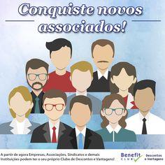 Tenha um Diferencial para o seu Sindicato ou Associação! Crie seu Clube de Benefícios. Acesse www.benefitclub.com.br e saiba mais!