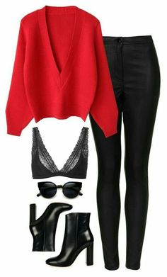 – # # CasualOutfits – look – … – Fashion Mode Outfits, Fall Outfits, Fashion Outfits, Womens Fashion, Fashion Trends, Night Outfits, Fashion Tips, Fashion Ideas, Cute Casual Outfits
