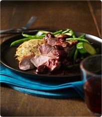 Cook up a special dinner for with these juicy duck breasts and a sweet cherry and red wine sauce, all served on a crispy potato rosti. Sainsburys Recipes, Cherry Sauce, Potato Patties, Duck Confit, Roast Duck, Frozen Cherries, Duck Sauce, Cherry Recipes, Crispy Potatoes