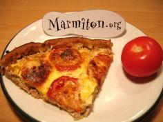 Tarte au thon et moutarde : Recette de Tarte au thon et moutarde - Marmiton
