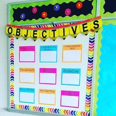 1000 ideas about learning objectives display on pinterest for Pretty bulletin board