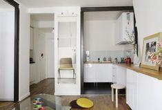 Une cuisine ouverte qui se prolonge dans le salon