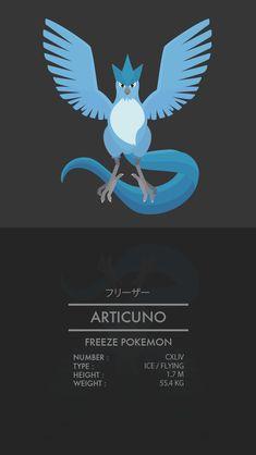 Articuno by WEAPONIX.deviantart.com on @DeviantArt