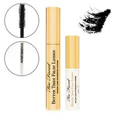 Too Faced Better Than False Lashes Nylon Lash Extension System £32 http://www.beautybay.com/cosmetics/toofaced/betterthanfalselashesnylonlashextensionsystem/  http://www.asos.com/Too-Faced-Cosmetics/Too-Faced-Better-Than-False-Lashes---Lash-Extension-System/Prod/pgeproduct.aspx?iid=2468224&r=2