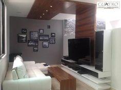 Encuentra las mejores ideas e inspiración para el hogar. Mueble de Televisión por CU4TRO Carpintería y Diseño en Muebles | homify