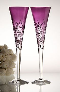 1000 images about champagne toasting flutes on pinterest toasting flutes champagne flutes - Vera wang martini glasses ...