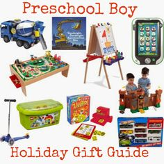 The Chirping Moms: Preschool Boy Holiday Gift Guide!