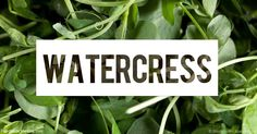 Learn more about watercress nutrition facts, health benefits, healthy recipes, and other fun facts to enrich your diet.
