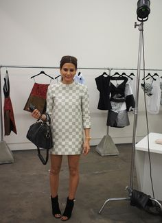 Christine Centenera @ our Josh Goot SS13 buying appointment