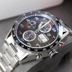 tag heuer all black men Men's Watches, Dream Watches, Sport Watches, Luxury Watches, Fashion Watches, Diesel Watches For Men, Tag Heuer Carrera Calibre, Swiss Army Watches, Beautiful Watches