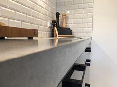 beton cire für wände böden treppen arbeitsplatten