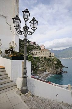 Atrani, Costa Amalfitana o Costa de Amalfi, patrimonio de la humanidad, Campania, Italia, Europa