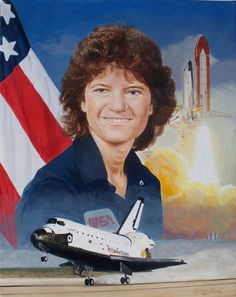 Sally Ride was a physicist and the first American woman to go into space. #NoviStars