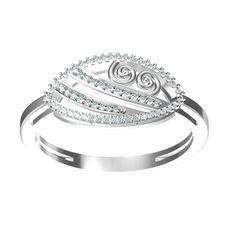 Jpearls Sweetie Diamond Finger Ring