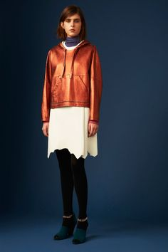 PeP LM.CT (Because who doesn't want a metallic hoodie....?!  3.1 Phillip Lim | Pre-Fall 2014 Collection | Style.com)