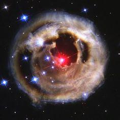 Light Echo From Star V838 Monocerotis - October 28, 2002