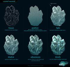 Crystal tutorial by Azot-2013.deviantart.com on @deviantART