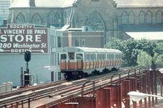 Vintage Boston.. The EL...